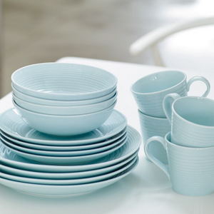 Gordon Ramsay Maze 16 Piece Dinnerware Set- Blue