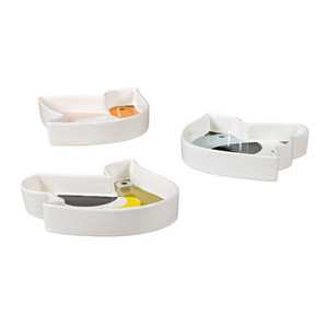 Set of 3 Snack Dishes
