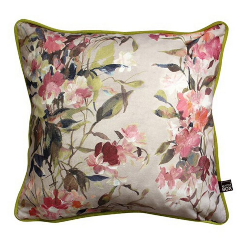 Eve 43x43cm Cushion, Rose