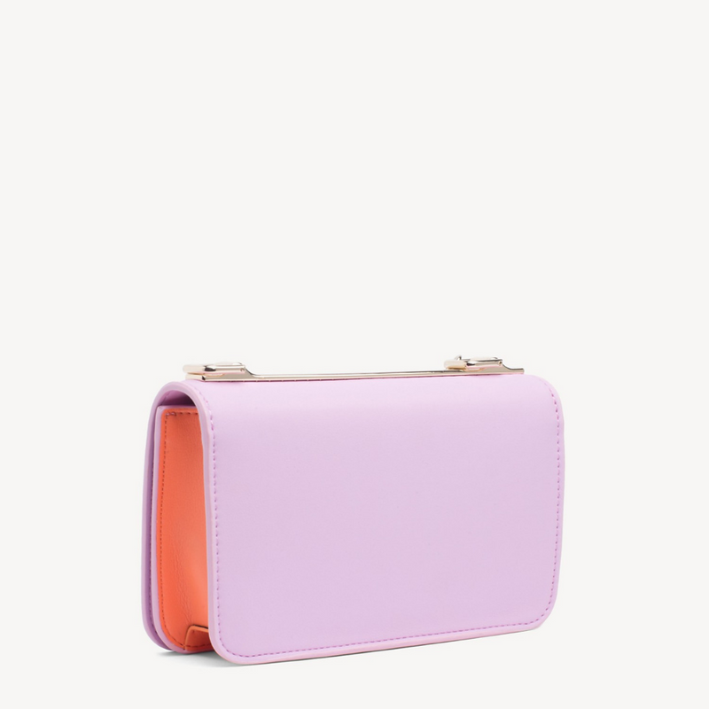 Tommy Statement Crossbody Pink Lavender