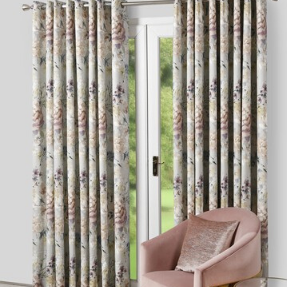 Eden Eyelet Curtains- Dove