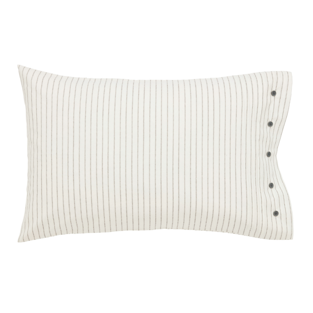 Kala Housewife Pillowcase Pair- Coral