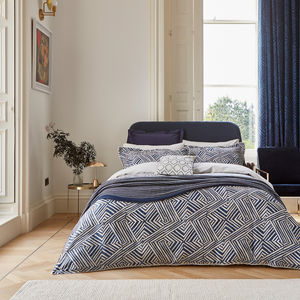Konoko Oxford Pillowcase- Indigo