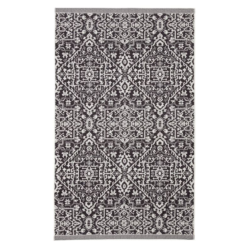 Dhaka Towel- Charcoal