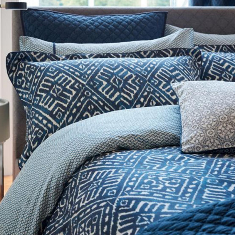 Cadenza Duvet Cover in Indigo