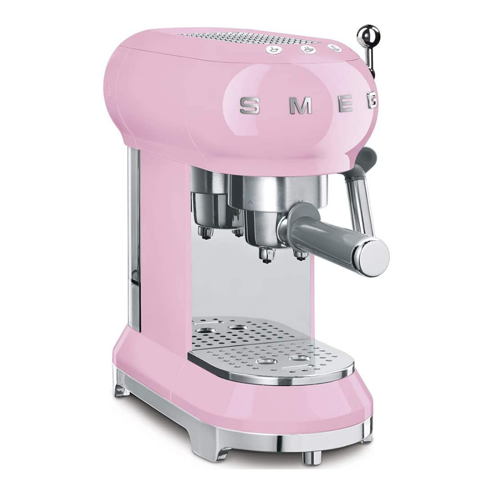 Smeg Espresso Coffee Machine - Pink