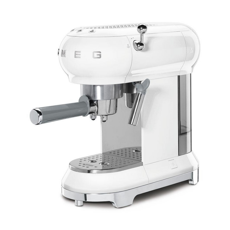 Smeg Espresso Coffee Machine - White