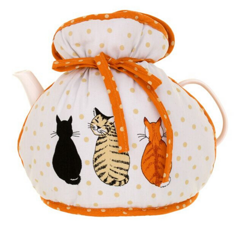 Cats In Waiting Muff Tea Cosy