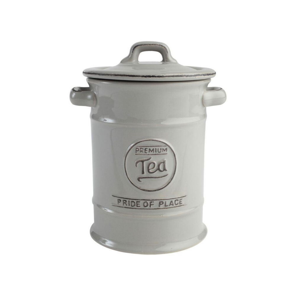 Pride Of Place Tea Storage Jar - Cool Grey