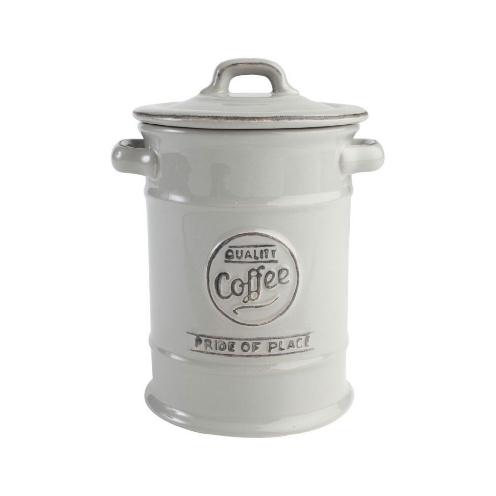 Pride Of Place Coffee Storage Jar - Cool Grey