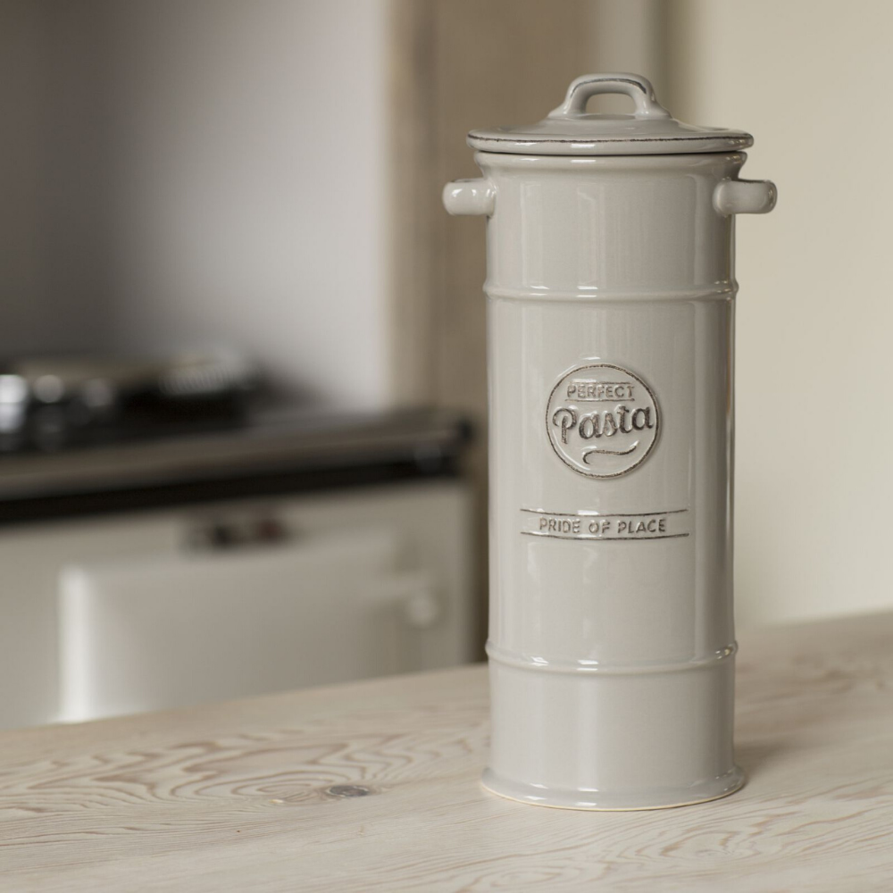 Pride Of Place Pasta Jar - Cool Grey