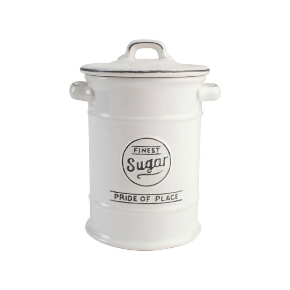 Pride Of Place Sugar Storage Jar - White