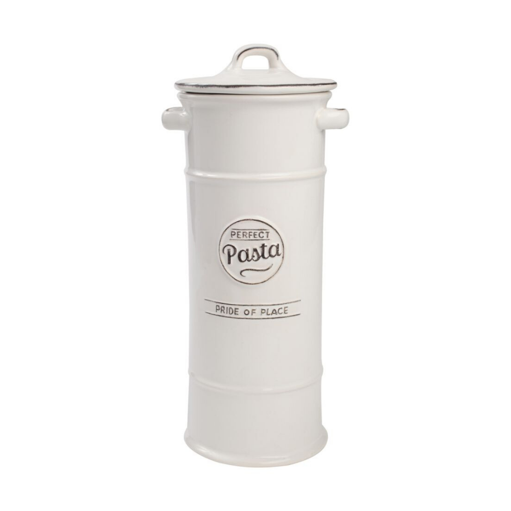 Pride Of Place Pasta Jar - White