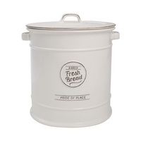 Pride Of Place Bread Crock - White