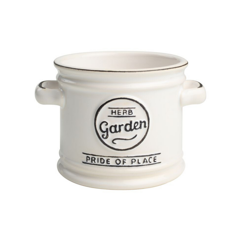 Pride Of Place Plant Pot - White