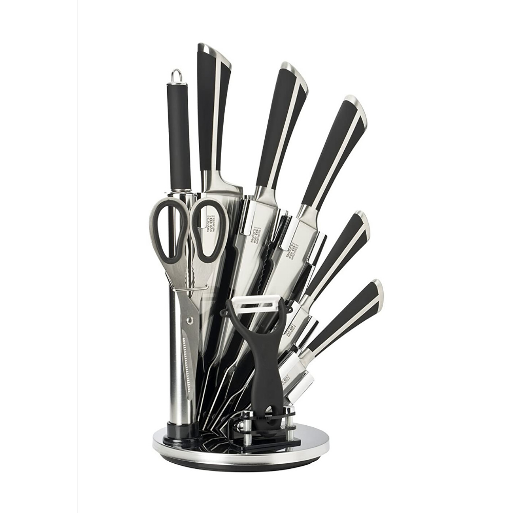taylors eye witness, knife block set