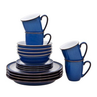 Imperial Blue 16 Piece Dinner Set