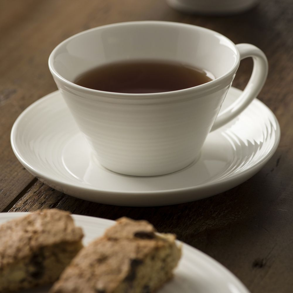 ripple tea cups & saucers