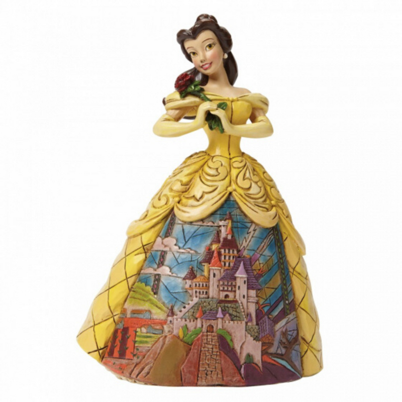 enchanted belle Figurine, disney traditions
