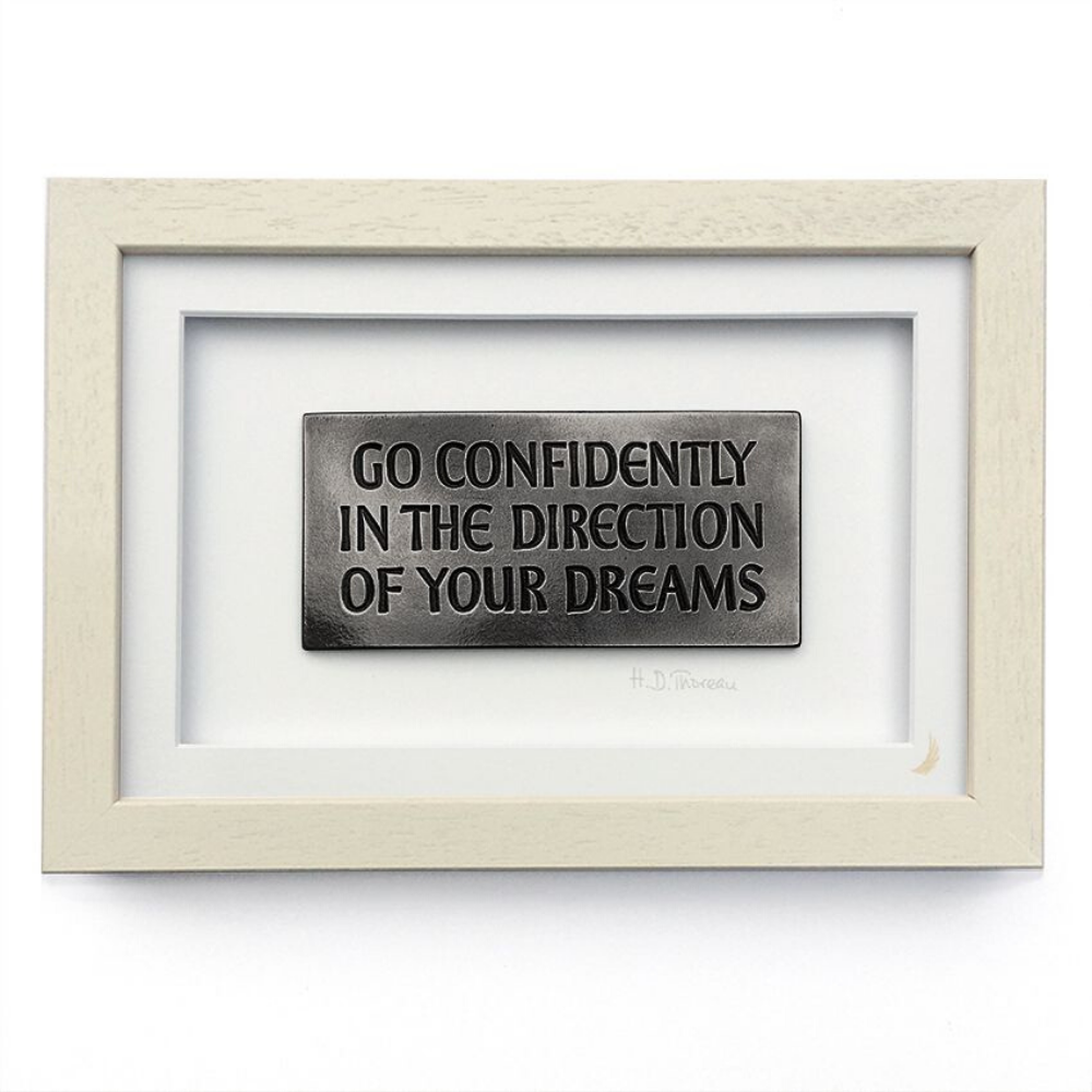 Go Confidently Frame