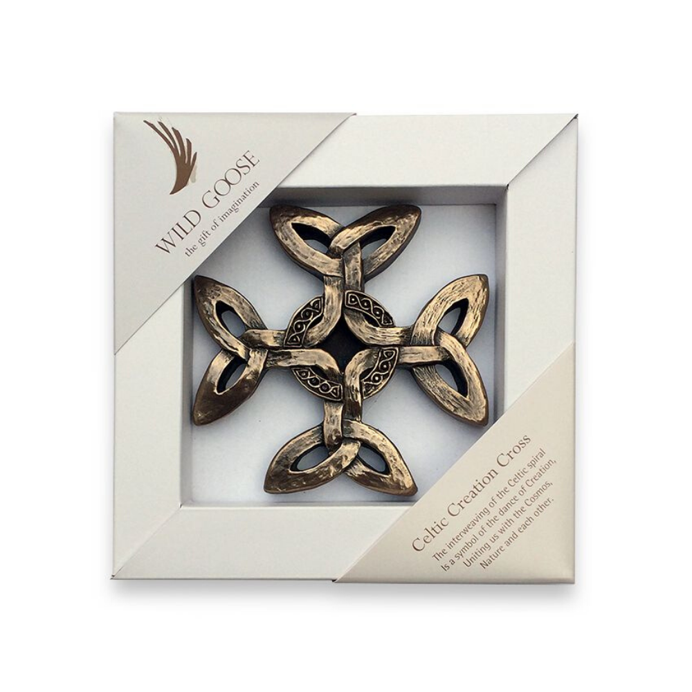 celtic creation cross, wild goose