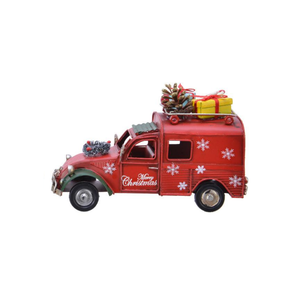 Christmas Car with Presents