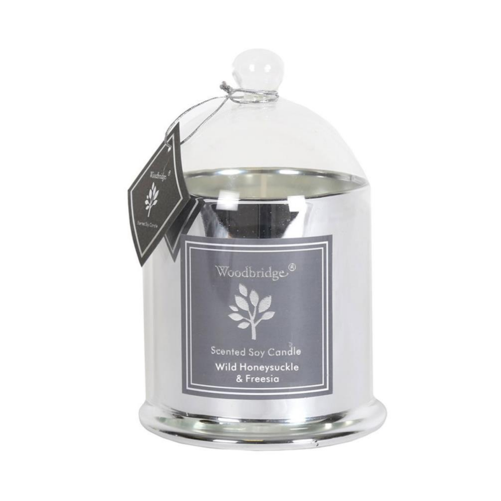 Wild Honeysuckle & Freesia Medium Bell Candle Jar