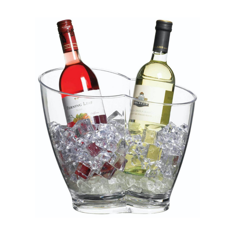 Acrylic Double Sided Drinks Pail / Cooler