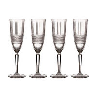 Verona Set of Four Champagne Glasses