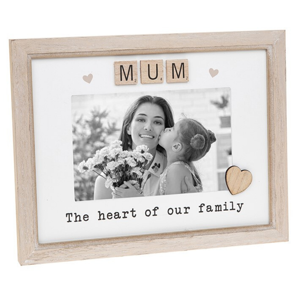 Scrabble Sentiments Frame- Mum