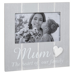 Cool Grey Frame 4x6 Mum