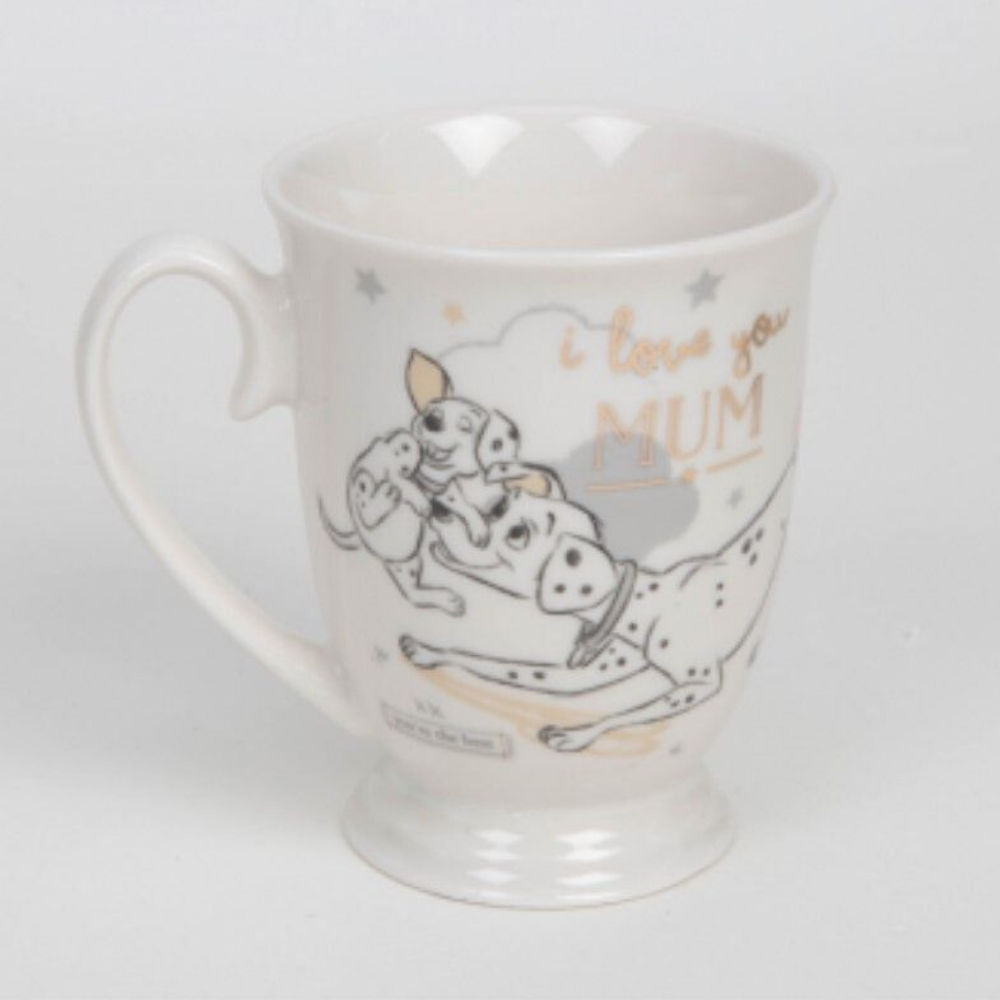 Magical Beginnings Dalmatian Mug- I Love You Mum