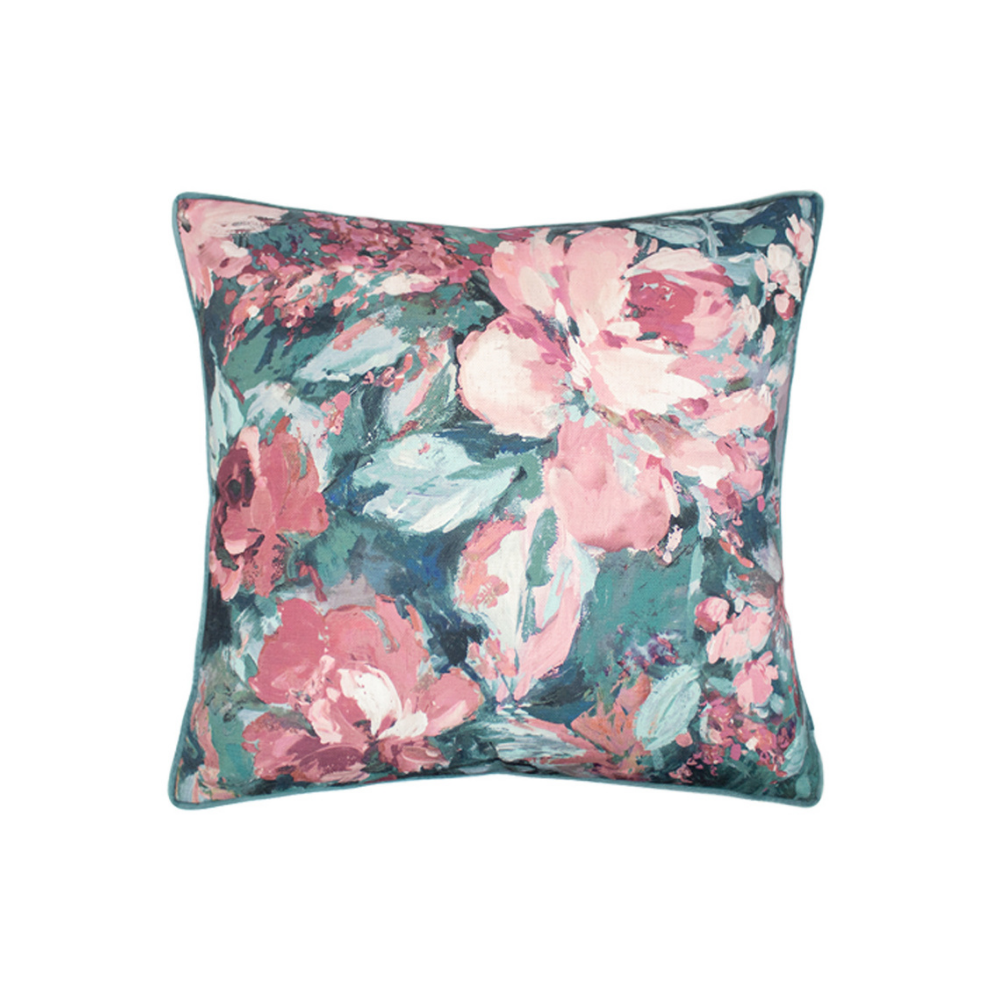 Indie 45x45cm Cushion Blush/Sage