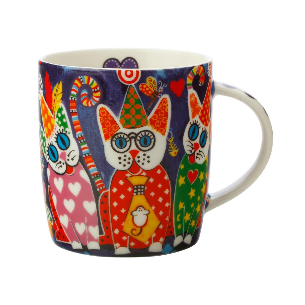 Love Hearts 370ml Cup Cakes Mug