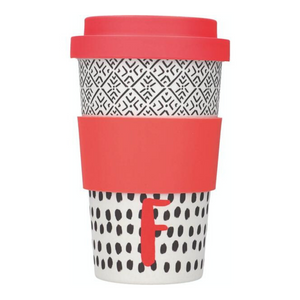 Alphabet Travel Mug - F