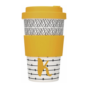 Alphabet Travel Mug - K
