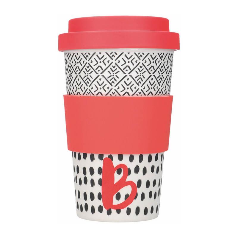 Alphabet Travel Mug - B