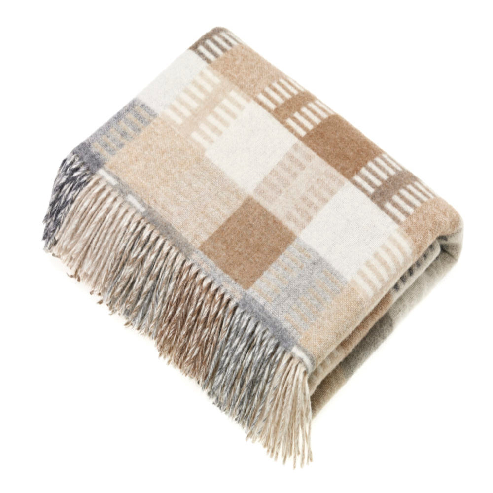 BRONTE BY MOON VENICE NATURAL THROW
