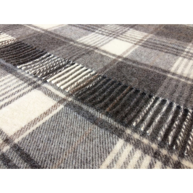 Huntingtower Brown Throw