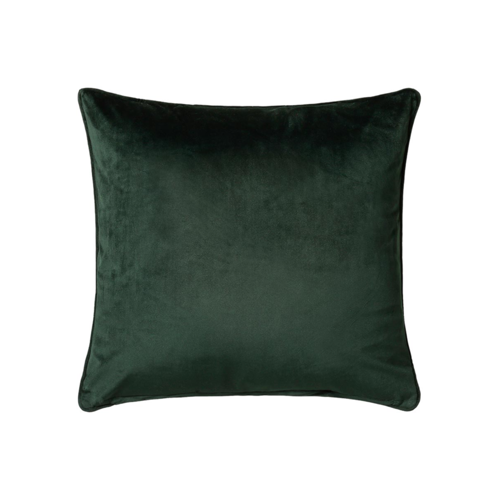 bellini forest green cushion