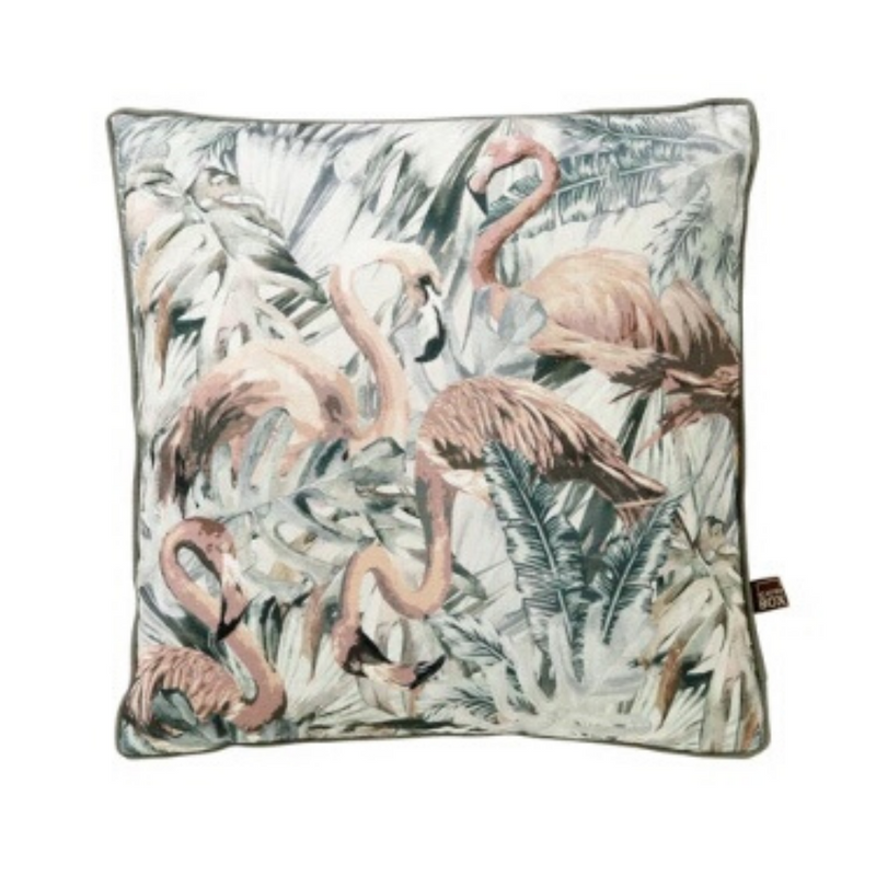 Strut 45x45cm Cushion, Grey/Blush