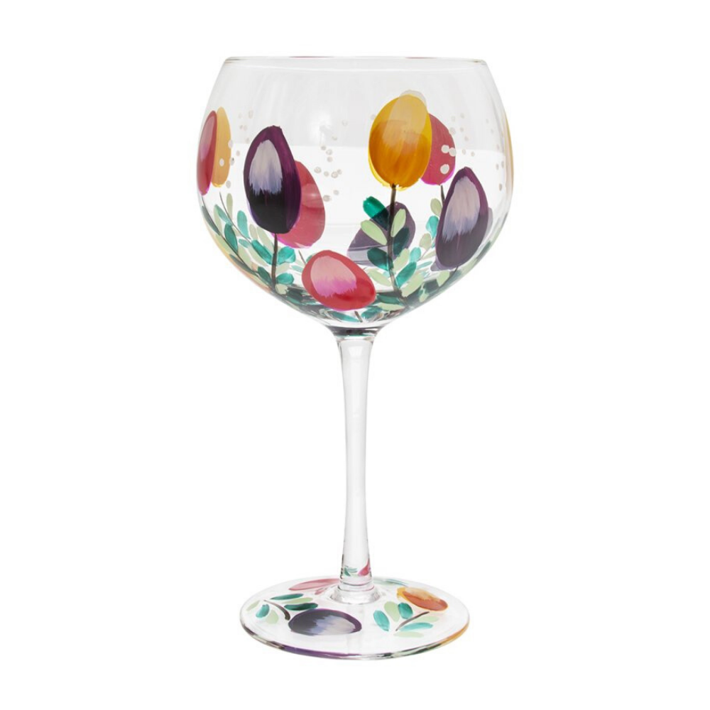 Gin Glass - Tulips
