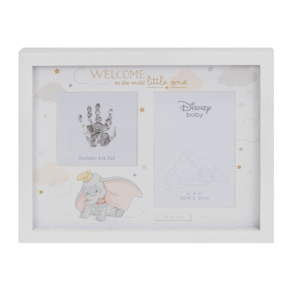 disney photo & handprint frame