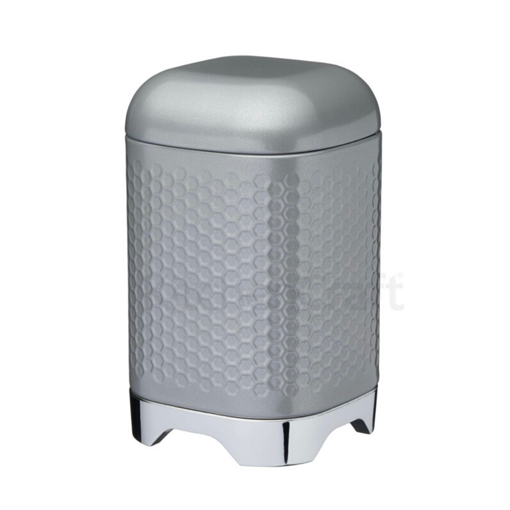 Lovello Grey Storage Canister