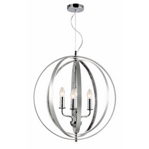 Bantry Pendant Light Silver