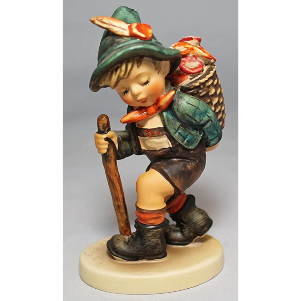 Flower Vendor Figurine