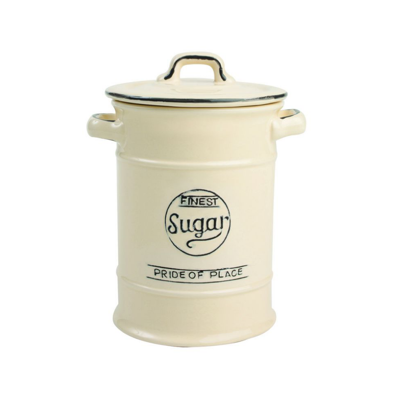 Pride Of Place Suagr Storage Jar - Cream