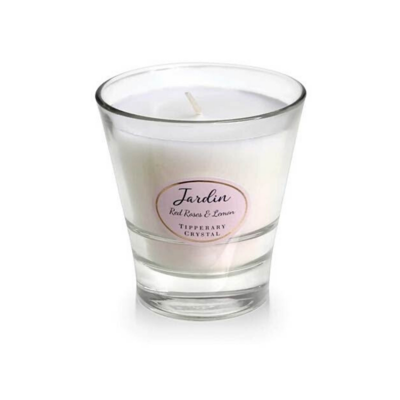 Red Roses and Lemon Jardin Candle