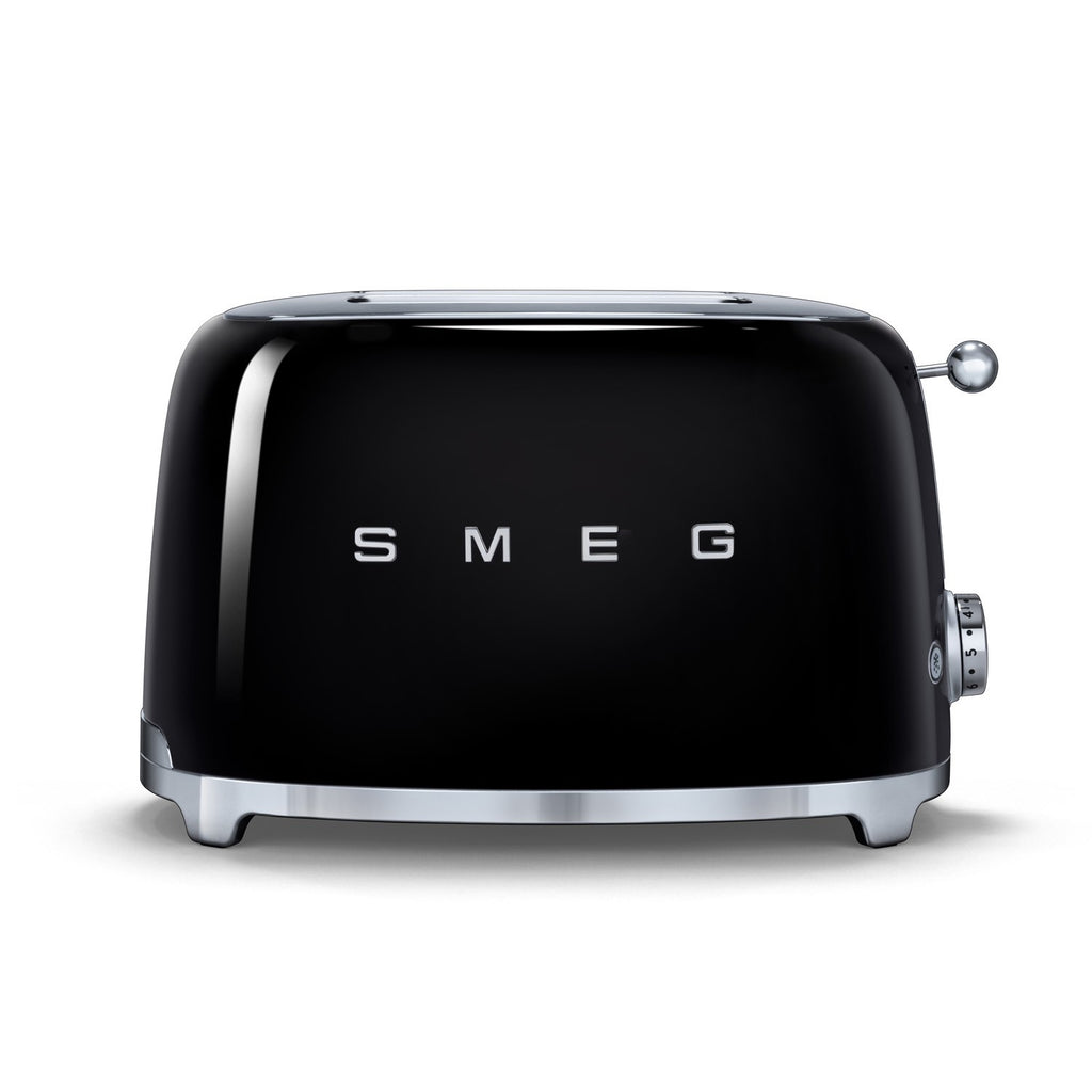 Smeg 2-Slice Toaster - Black
