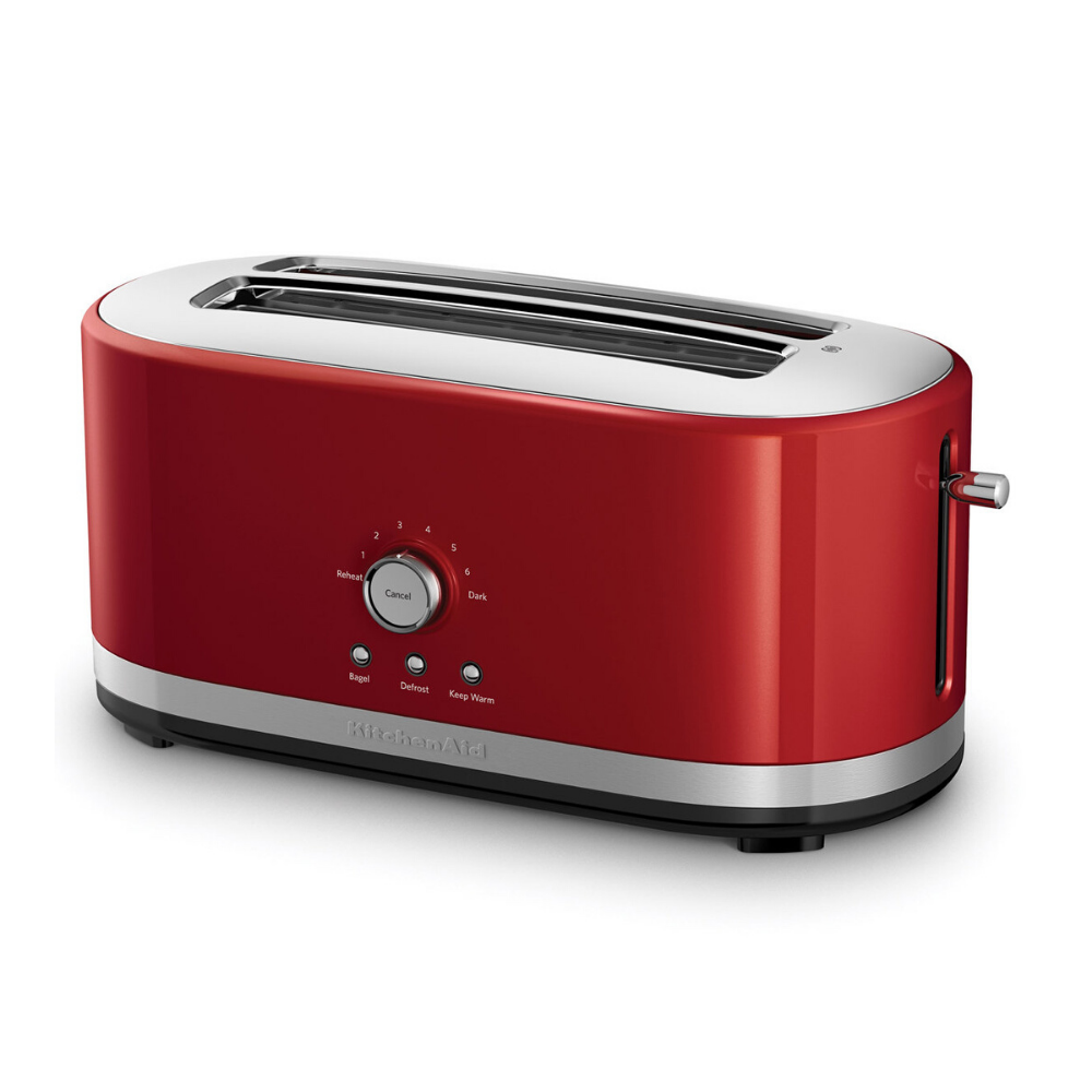 Long Slot Empire Red Toaster